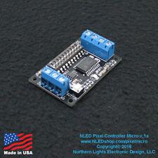 Pixel Controller Micro - LED - DMX Serial - WS2812, WS2801, APA102, WS2811 +More