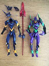 Neon Genesis Evangelion Eva-01 & Mark 06 Kaiyodo Revoltech? Action Figure Set