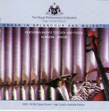Bach/Albinoni/Widor-institution en Splendour and Majesty-CD -