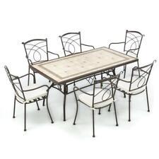 Offerte Tavoli Da Giardino In Ferro.Tavolo Mosaico A Set Di Tavoli E Sedie Da Esterno Acquisti