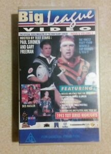 BIG LEAGUE VIDEO: Issue 5, Volume 2 (VHS, 1993) Rugby League Video Magazine RARE