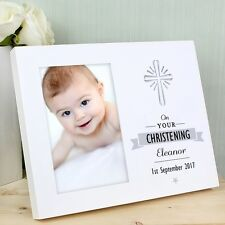 Personalised On Your Light Up 6x4 Photo Frame Personalised Baby Christening Gift
