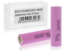 2X Samsung Li-ion Akku für Fenix TK15 / TK35 Accu Batterie Battery Neu 2600mAh