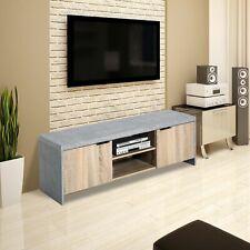 Wood Modern TV Cabinet Stand Unit  Storage living room Shelves Doors Drawer new