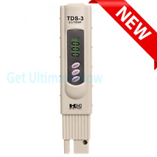 HM Digital TDS-3 Handheld TDS Meter With Carrying Case