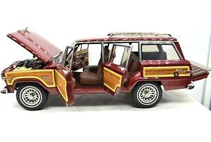 Model Car Art Jeep Grand Wagoneer AUTOart Scale 1:18 diecast vehicles