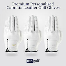 Premium Personalised Cabretta Leather Golf Glove (MEN) Crafted in Australia Gift