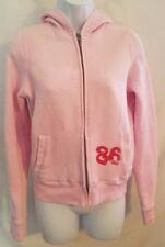 Victoria's Secret Pink Full Zip Hoodie Sweatshirt Women's Size Small S - #AK