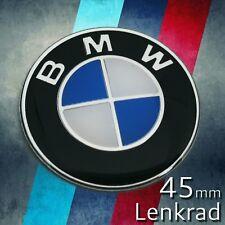 Emblem für BMW 45mm Lenkrad Kofferraum Logo Auto Zeichen Heckklappe Abdeckun 3D