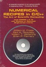 Numerical Recipes Source Code in C and C++ CD ROM with Windows or Macintosh Sin
