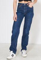 Women`s Vintage Levi`s 501 High Waist Boyfriend Mom Jeans UK 10 / W30 L28