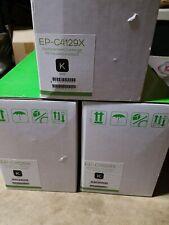 3 PACK ECO 29X-C4129X Black Hi Yld LaserJet 5000,  5100 Toner Ctg New Compatible