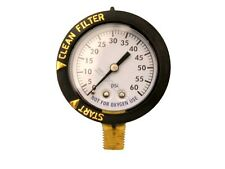 Pentair 190058 FNS Clean & Clear 0-60 psi Pool Filter Pressure Gauge Replacement