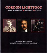 GORDON LIGHTFOOT DREAM STREET ROSE/SHADOWS/SALUTE REMASTERED 2 CD NEW