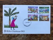 St Kitts 1983 Christmas First Day Cover