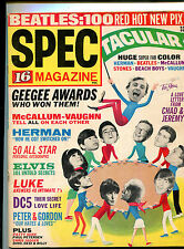USA 1965 Pop / Teen Magazine: 16 Magazine Spectacular : Rolling Stones Beatles