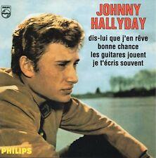 ☆ CD Single Johnny HALLYDAY Dis-Lui que j'en rêve EP REPLICA CARD SLEEVE 9503 ☆