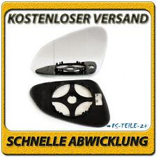 Asphärish Spiegelglas für Opel Insignia 08-16 links mit Platte beheizbar