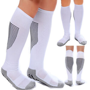 Compression Socks Knee High Running Sport Long Stcokings Ankle Pairs 30-40 mmhg