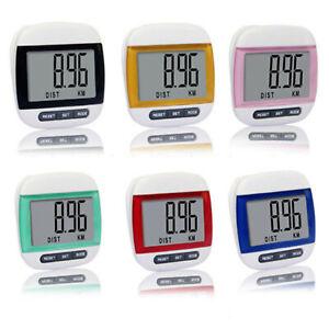 Multi-function LCD Display Pedometer Jogging Step Pedometer Walking Calorie