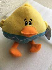 Plush Duck New Quack Quack Carlton Yellow Adorable Soft Duckie Easter basket fun