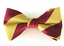 The Royal Regiment Of Fusiliers  Pre Tied Striped Bow Tie Regimental