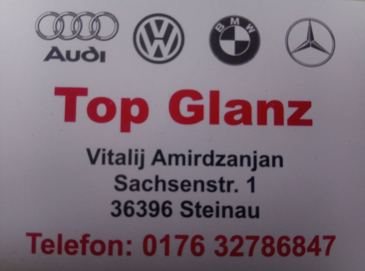 Topglanz-Autoteile