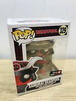 Funko Pop Marvel Deadpool Samurai 329 GameStop Exclusive