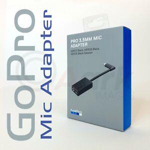 GoPro 3.5mm Mic Adapter - HERO 8 7 6 5 Session- Microphone Adaptor | USB-C | NEW
