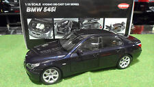 BMW 545 i SEDAN bleu Blue au 1/18 KYOSHO 08591BL voiture miniature de collection