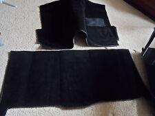 FORD ESCORT MK2 CARPET SET LHD IN BLACK.