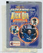 Merlin KICK OFF calciatori 1997 1998 RONALDO - bustina vuota scollata - Bu82