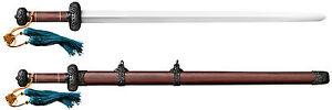 "Cold Steel Battle Gim Damascus Sword w/ Rosewood Scabbard 30"" Blade 88FG"
