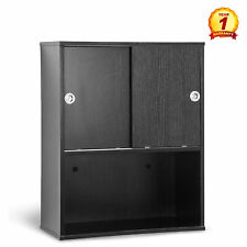 Wall Mounted Barber Station Shampoo Storage Cabinet Beauty Salon  Spa Equipment
