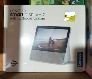 NEW - Lenovo Smart Display 7 Inch With Google Assistant