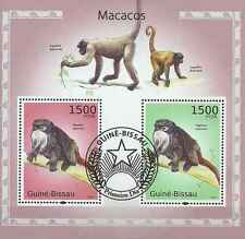 Timbres Animaux Singes Guinée Bissau BF541 o année 2010 lot 19126 - cote : 16 €