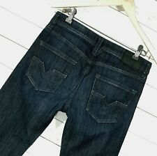 ⭐ Mens Diesel Larkee regular straight stretch blue jeans wash 0R3Z8 size W29 L32