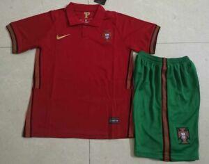 20/21 Kids Boys Club Sportswear Socks Adult Red Shirt Jersey Kits