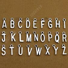 SET (A-Z) 26 Alphabet Letter Pendant Charms Beads DIY Jewellery Accessories