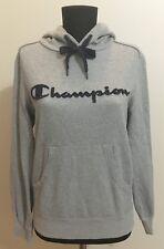 Champion womens grey hoodie Size S
