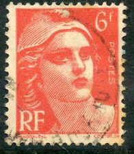 STAMP / TIMBRE FRANCE OBLITERE N° 721A  TYPE MARIANNE DE GANDON
