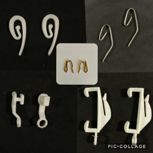 Curtain track gliders glide hooks runners pole slides - Rail Tracking parts