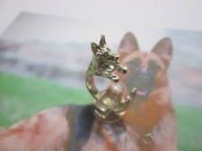 Pastore Tedesco anello in Argento 925- produzione artigiana