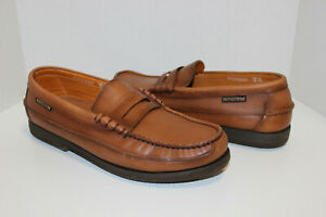 Mephisto Men's Cap Vert Loafer Moccasin, US 11.5 Rust Smooth Leather