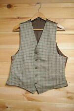 """Vtg Tatterstall & Moleskin Reversible Waistcoat Vest 42"""" Pennine Range"""
