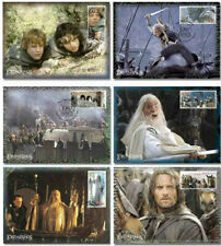 The Lord of the Rings NZ The Two Towers 6x Set of Maximum Cards, MINT