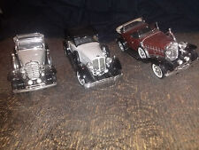 LOT OF TWO ANSON 1932 CADILLAC PHAETON MODELS AND ONE ANSON 1934 PACKARD MODEL