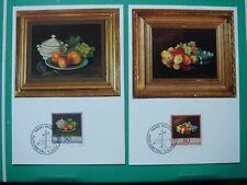 "Liechtenstein Maximumkarten Nr. 96 ""Liechtensteiner Maler"" 1990 (3 Karten)"