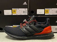 Adidas UltraBoost DNA Running Shoes Core Black Red FW4899  SHIPS DOUBLE BOXED