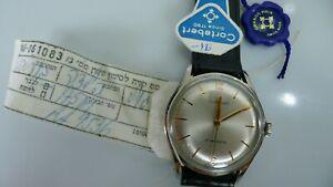 Old Vintage Never Used Cortebert Mechanical Wrist Watch all Original